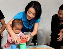 马伊琍强调儿童早期综合发展的重要性