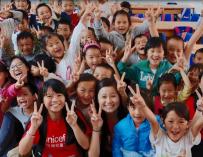 感谢联合国儿童基金会香港委员会