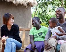 联合国儿童基金会大使马伊琍赴非洲交流探访 呼吁携手改善新生儿健康