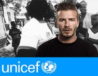 David Beckham supports fight against Ebola