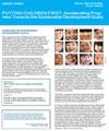 PUTTING CHILDREN FIRST: Accelerating Progress Towards the Sustainable Development Goals