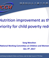 Child poverty and child welfare system