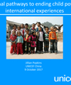 National pathways to ending child poverty: international experiences