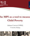 The MPI as a tool to measure Child Poverty