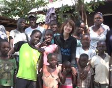 UNICEF ambassador Ma Yili visits Kenya
